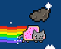 Play Nyan Cat Meteor Flight!