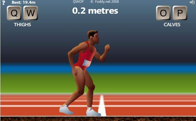 Play QWOP