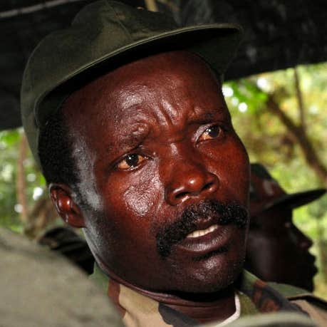 Play Joseph Kony can not run away