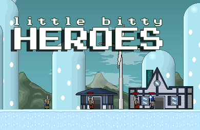 Play Little Bitty Heroes