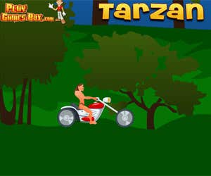 Play Tarzan Speed Biker