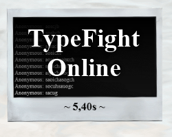 Play TypeFight Online