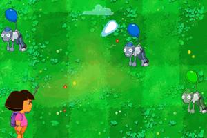 Play Dora VS Zombie