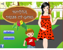 Play Pregnant Mommy DressUp