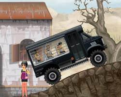 Play Prison Bus Driver