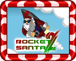 Play Rocket Santa 2