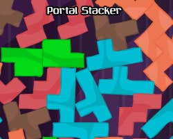 Play Portal stacker