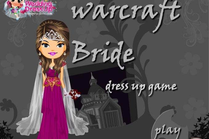 Play warcraft bride