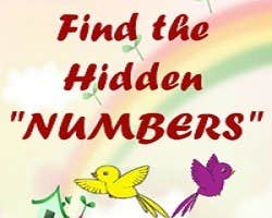 "Play Find the hidden ""Numbers"""