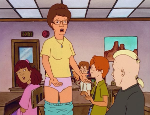 Play Peggy Hill Dating Simulator