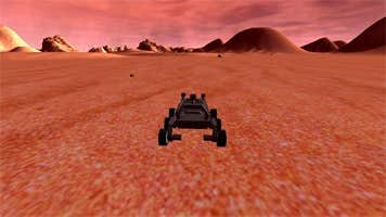 "Play Mars Rover ""Simulation"" prototype"