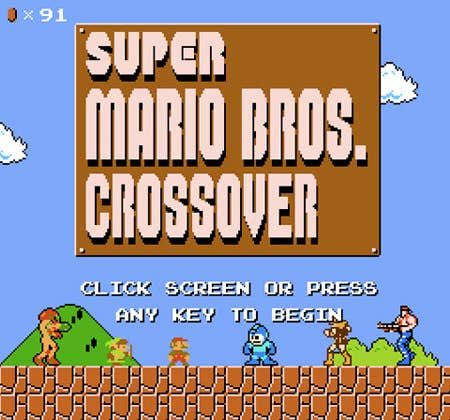 Play Super Mario Crossover Version 2.0