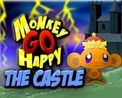 Play Monkey'GO'Happy The Castle