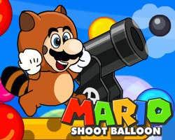 Play Mario Shoot Balloon