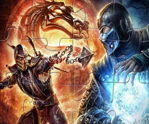 Play Fire Kombat Jigsaw