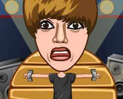 Play Justin Bieber Darts