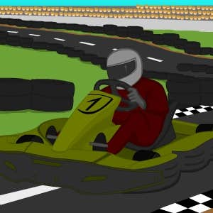 Play Race kart Parking