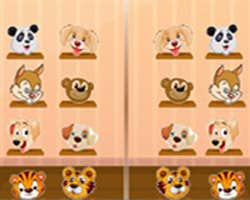 Play Animals Mirror Match