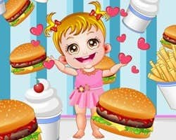 Play Baby Hamburger Shop