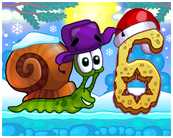 Play Snail Bob 6: Winter Story