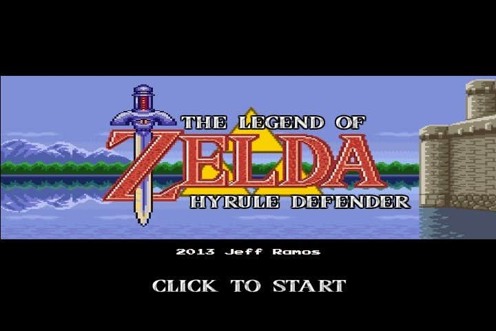 Play The Legend of Zelda Hyrule defense