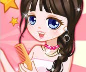 Play Dress Doll's Hair