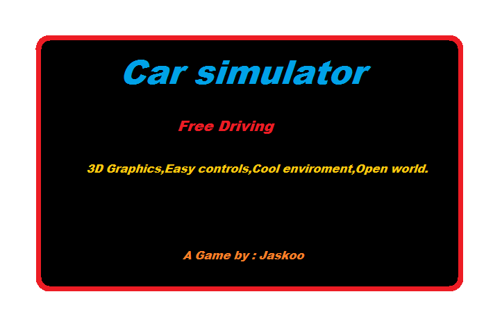 Play Car Simulator