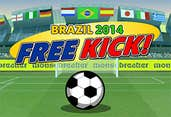 Play Brazil 2014 Freekick