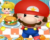 Play Mario Burger Shop