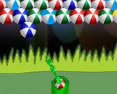 Play Blow Up The Colorful Balls