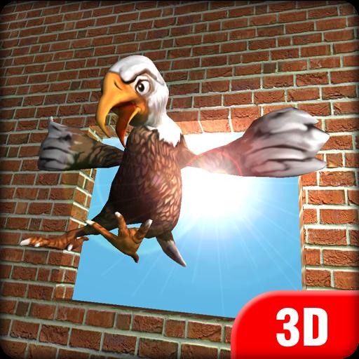 Play Flappy Eagle 3D
