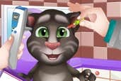 Play Baby Talking Tom Eye Doctor