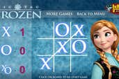 Play Anna Frozen Tic Tac Toe