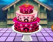 Play Halloween Cake Decoration