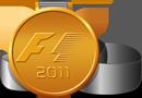 F1 medal