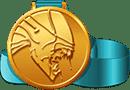 Avm medal alien lrg