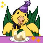 Celebrate birthday duckie shiny png