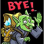 F4   goblin bye bye  subject