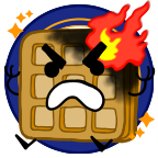 Angry breakfast shiny png