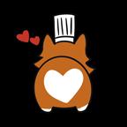 Corgichef heart butt