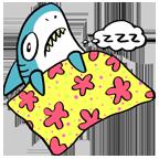 Shark sleep