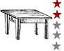 Play the most 2star rated game about tables sitting on cats