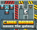 Play Cube Droid Saves the Galaxy