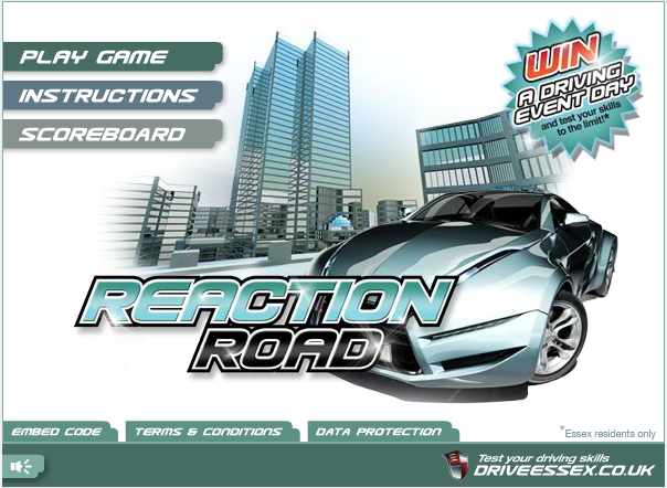 Play Reaction Road