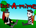 Play kick-A-mime
