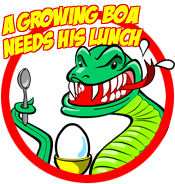 Play A Growing Boa Needs His Lunch