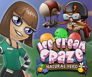 Play Ice Cream Craze: Natural Hero
