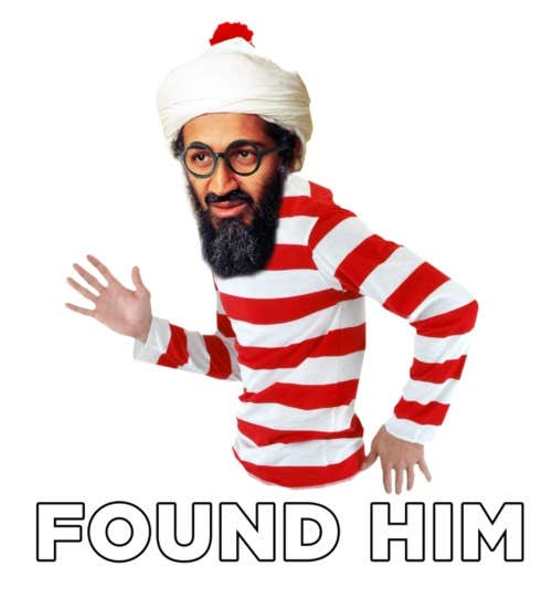 Play Where's Osama?