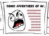 Play Comic Adventures of Mr. FFFUUUUUUU