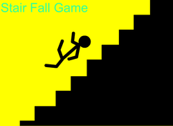 Play Stair Fall Game
